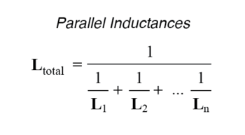 parallel inductaces formula