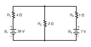 parallel network branches circuit two