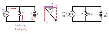 parallel r l circuit