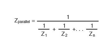 parallel resistances formula
