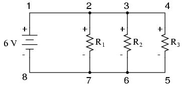 parallel resistor circuit