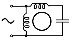 permanent split capacitor induction motor