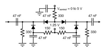 pin diode attenuator pin diodes function as voltage variable resistors