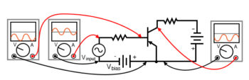pnp version of common emitter amplifier