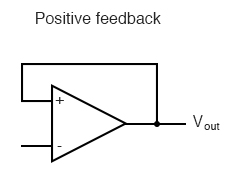 positive feedback circuit