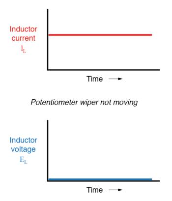 potentiometer wiper not moving