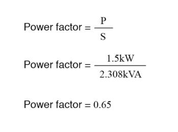 power factor equation