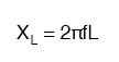 exact formula for determining reactance