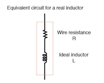 real inductor inductor equivalent circuit1