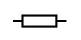 rectangular box resistor schematic symbol