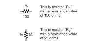 resistor values 150 25 ohms
