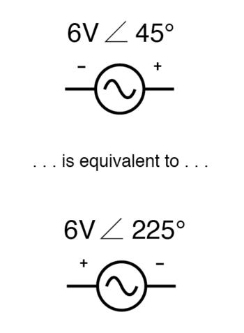 reversing polarity to phase angle