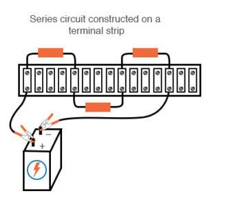series circuit construction terminal strip