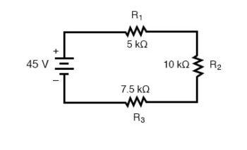series circuit diagram