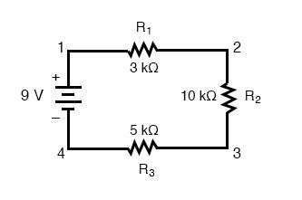 series multiple resistors circuit