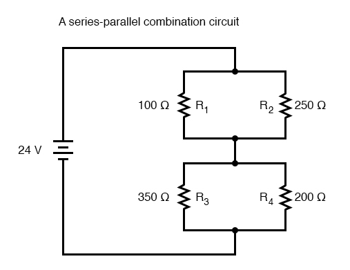 series parallel comination circuit