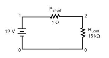 shunt resistor example
