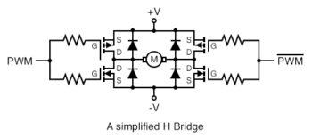 simple H bridge