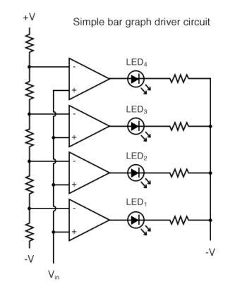simple bar graph driver circuit