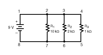 simple parallel circuit diagram