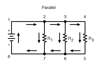 simple parallel circuit image one