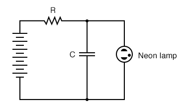 Simple relaxation oscillator