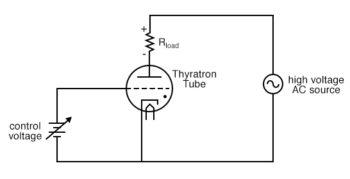 simple thyratron control circuit