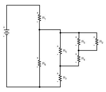 simplified circuit diagram three