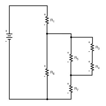 simplified circuit diagram two