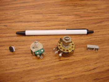 small potentiometers sample