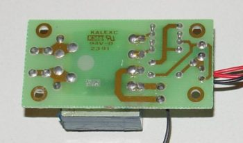 soldered wire wrapped circuit