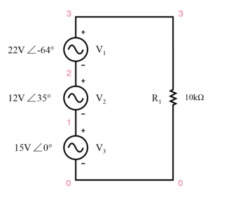 spice circuit schematic