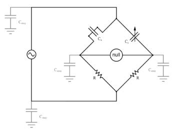 stray capacitance to ground