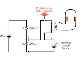 switch transformer headphone arrangement