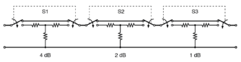 switched attenuator