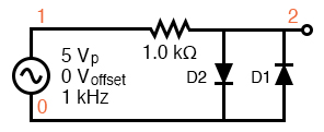 symmetrical clipper