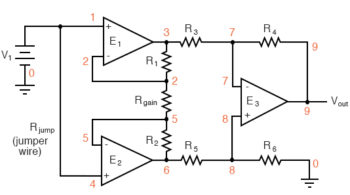 the common mode voltage changes circuit