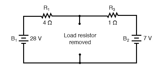 thenin equivalent circuit diagram