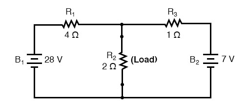 thevenin equivalent circuit diagram