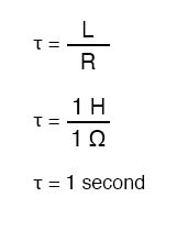 time constant equation2