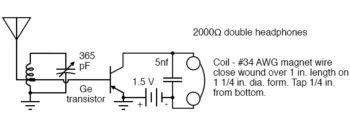 tr one one transistor radio