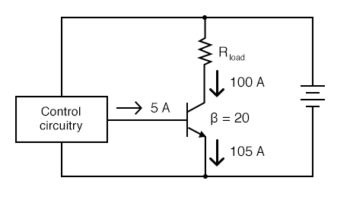 transistor with control circuitry
