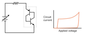 transistors shut off