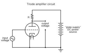 triode amplifier circuit