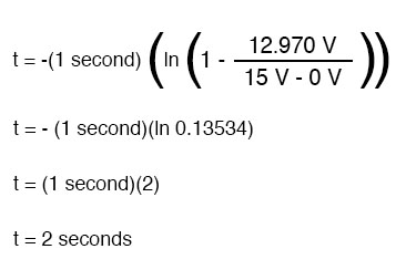 universal time constant solving