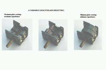 variable capacitor air dielectric