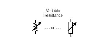 variable resistance resistors