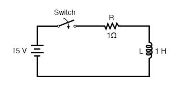 voltage across the capacitor circuit2