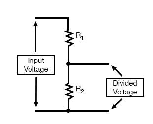 voltage dividing components