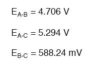 voltage drop equation